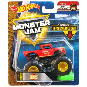 Hot Wheels Monster Jam RADICAL RESCUE 1:64 Scale Die-Cast Truck