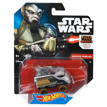 Hot Wheels Star Wars GARAZEB ORRELIOS 1:64 Scale Die-Cast Character Car