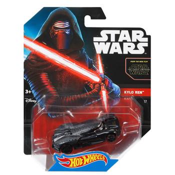 Hot Wheels Star Wars KYLO REN 1:64 Scale Die-Cast Character Car