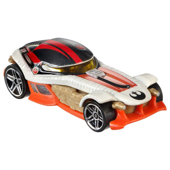 Hot Wheels Star Wars BB-8 & POE DAMERON 1:64 Scale Die-Cast Character Cars