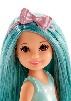Barbie Chelsea Easter Doll (Turquoise Hair)