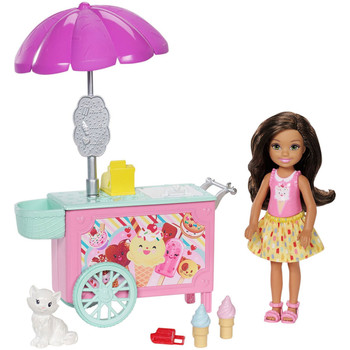 Barbie Club Chelsea ICE CREAM CART Playset
