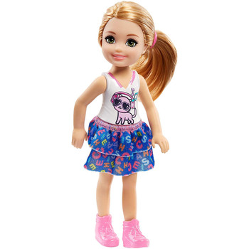 Barbie Club Chelsea Girl Doll with Cat Top