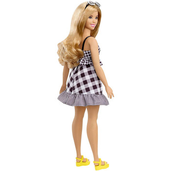 Barbie Fashionistas Doll 96 - Curvy with Dark Blonde Hair & Gingham Dress