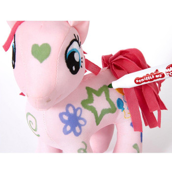 My Little Pony 20cm Scribble Me PINKIE PIE Soft Toy