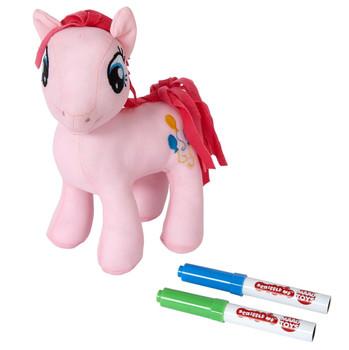 My Little Pony 20cm Scribble Me PINKIE PIE Soft Toy