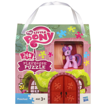 My Little Pony 24pc Playhouse Jigsaw Puzzle with Mini Twilight Sparkle Figure