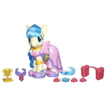 "My Little Pony Cutie Mark Magic MISS POMMEL 6"" Fashion Style Pony"