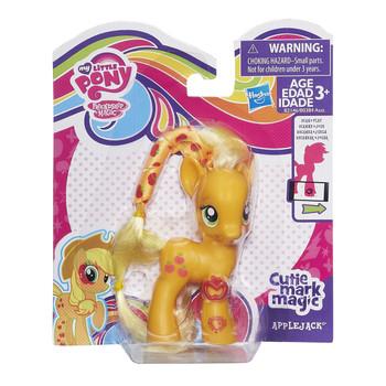 My Little Pony Cutie Mark Magic APPLEJACK Figure with Bracelet