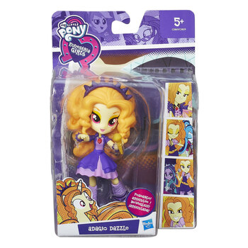 My Little Pony Equestria Girls ADAGIO DAZZLE Rockin' Collection Minis Doll