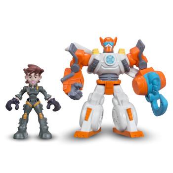 Transformers Rescue Bots BLADES the Coptor-Bot & DANI BURNS Figures