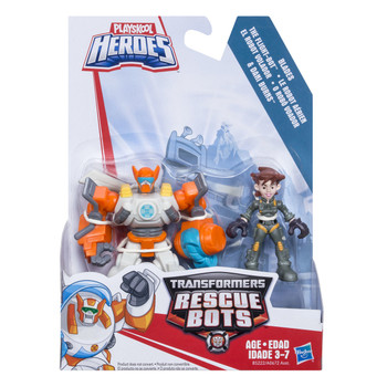 Transformers Rescue Bots BLADES the Coptor-Bot & DANI BURNS Figures