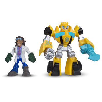 Transformers Rescue Bots BUMBLEBEE & DOC GREENE Figures