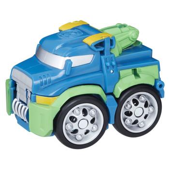 Transformers Rescue Bots Flip Racers HOIST the Tow-Bot