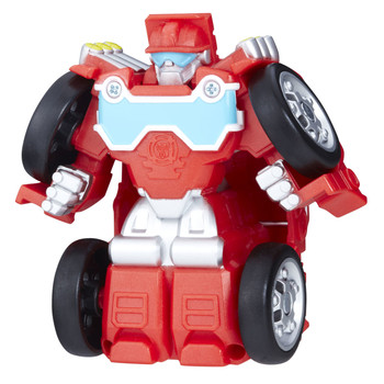 Transformers Rescue Bots Flip Racers HEATWAVE the Fire-Bot