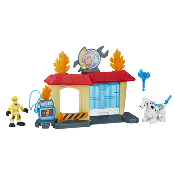 Transformers Rescue Bots GRIFFIN ROCK GARAGE Playset