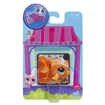 Littlest Pet Shop Get The Pets #3574 Orange Fish