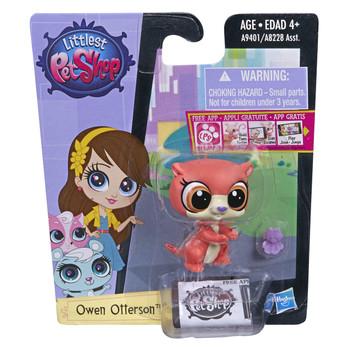 Littlest Pet Shop Get The Pets #3745 OWEN OTTERSON the Otter