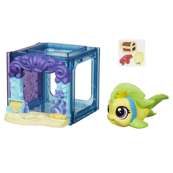 Littlest Pet Shop Mini Style Set with #4023 FLIPPA SPLASHLEY the Fish