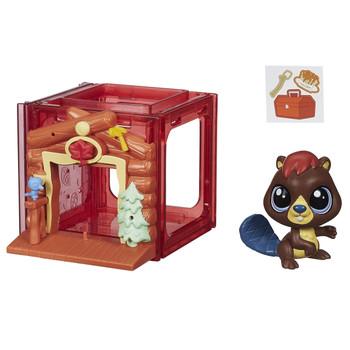 Littlest Pet Shop Mini Style Set with #4025 ALDER WATERLEY the Beaver
