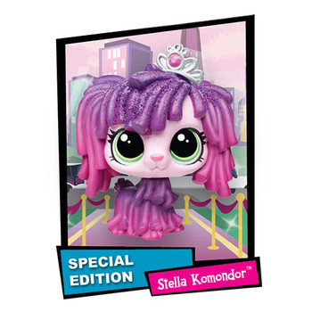 Littlest Pet Shop Special Edition #141 STELLA KOMONDOR the Mop Dog