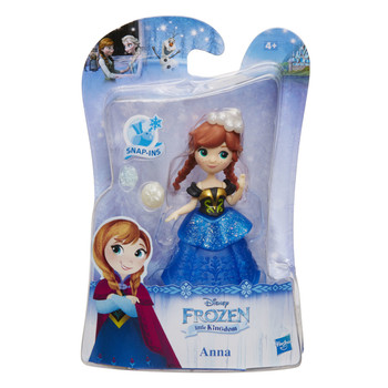 Disney Frozen Little Kingdom Ice Shimmers ANNA Doll