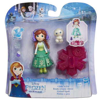 Disney Frozen Little Kingdom Glide 'N Go ANNA Doll