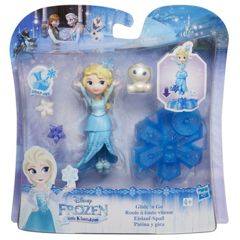Disney Frozen Little Kingdom Glide 'N Go ELSA Doll