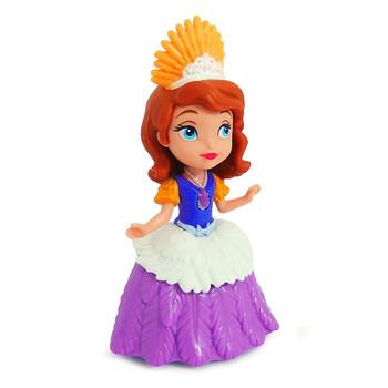 Costume Princess Sofia doll measures around 8 cm (3 inch) tall.