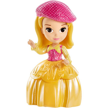 """Sofia the First PRINCESS AMBER (Buttercup Troop) 3"""" Doll"""
