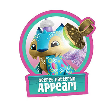Animal Jam Best Dressed LUCKY LYNX with Light-Up Ring