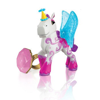Animal Jam Best Dressed MAGIC HORSE with Light-Up Ring