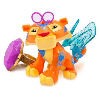 Animal Jam Best Dressed SPARKLE TIGER with Light-Up Ring