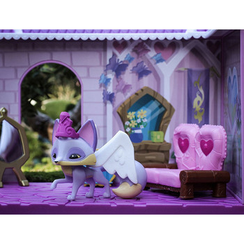 Animal Jam PRINCESS CASTLE DEN with Limited Edition Fancy Fox