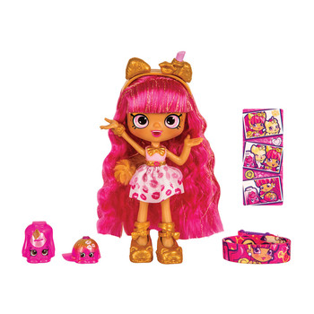 Shopkins Wild Style LIPPY LULU Pomeranian Shoppies Doll