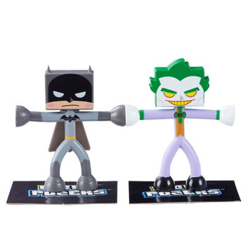 DC Comics Justice League Micro Pozers BATMAN & THE JOKER Figure 2-Pack