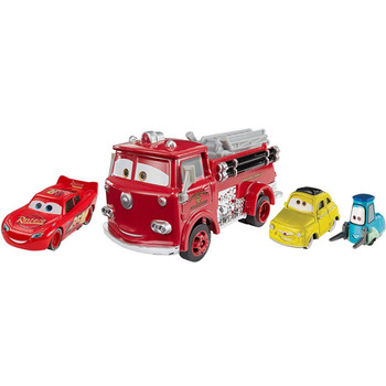You'll receive the following characters in this pack: Red, Cars 3 Lightning McQueen, plus Luigi & Guido.