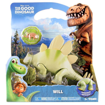 Disney Pixar The Good Dinosaur WILL Large Poseable Stegosaurus Figure
