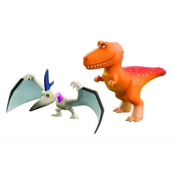 Disney Pixar The Good Dinosaur RAMSEY and THUNDERCLAP Mini Figures
