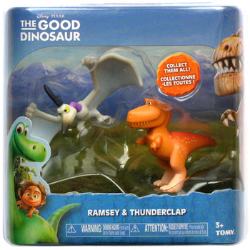 Disney Pixar The Good Dinosaur RAMSEY and THUNDERCLAP Mini Figures