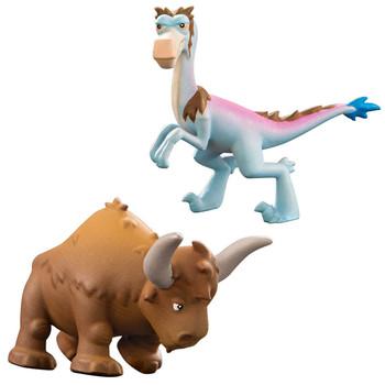 Disney Pixar The Good Dinosaur BUBBHA & BISODON Mini Figures