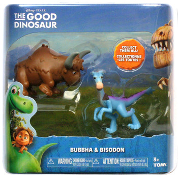 Disney Pixar The Good Dinosaur BUBBHA & BISODON Mini Figures