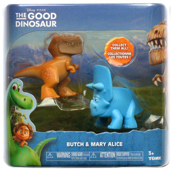 Disney Pixar The Good Dinosaur BUTCH & MARY ALICE Mini Figures