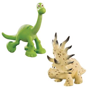 Disney Pixar The Good Dinosaur ARLO & FORREST WOODBUSH Mini Figures
