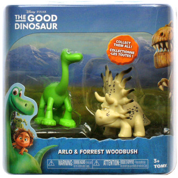 Disney Pixar The Good Dinosaur ARLO & FORREST WOODBUSH Mini Figures