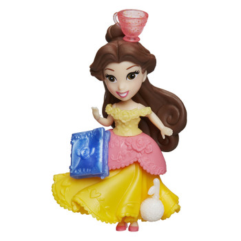 "Disney Princess Little Kingdom BELLE 3"" Doll with 3 Snap-Ins"