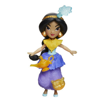 "Disney Princess Little Kingdom JASMINE 3"" Doll with 3 Snap-Ins"