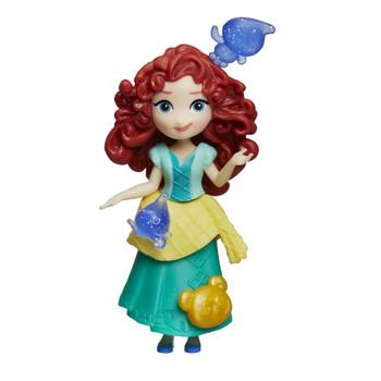 "Disney Princess Little Kingdom MERIDA 3"" Doll with 3 Snap-Ins"