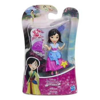 "Disney Princess Little Kingdom MULAN 3"" Doll with 3 Snap-Ins"