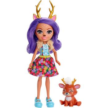 Enchantimals DANESSA DEER Doll & SPRINT Animal Friend